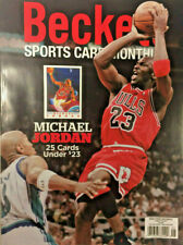 Used June 2020 Beckett Sports Card Monthly Price Guide Magazine, Michael Jordan