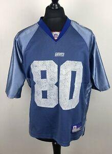Jeremy Shockey #80 New York Giants REEBOK NFL Football Jersey Men's Size M Adult