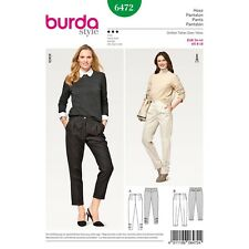 Burda Sewing Pattern 6859 Womens Misses Pants Plus Size Size 18-34 Uncut New