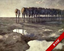 LANGEMARK BELGIUM WWI WORLD WAR 1 MILITARY ART PAINTING REAL CANVAS PRINT