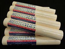 8038-18-) 12 Rollen hochwertige Vliestapeten creme hell mit feiner Struktur