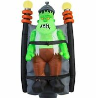 Halloween 6 ft Monster animated shaking monster airblown inflatable yard decor
