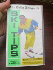 Ski Tips Beginners Intermediates  VHS Video Tape