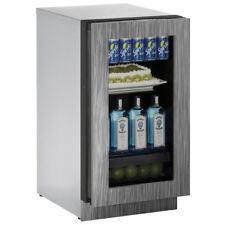 "U-Line 3000 Series 18"" Refrigerator- Integrated Frame Glass Door -3018Rglint-00B"