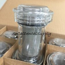 Dental Vacuum Pump Disposable Canister bowl w/ Filter Trap #2200 12/pk