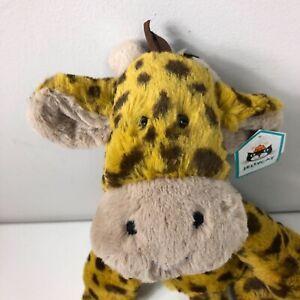 Jellycat London Merryday Giraffe Floppy 17in Soft Plush Toy Gold Brown Retired