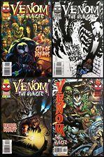 Venom The Hunger #1-4 Complete Hi Grade Marvel 1996