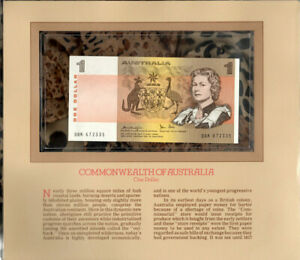 Most Treasured Banknotes Australia $1 1979 UNC P-42c Knight/Stone DBK 672335