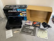 SEGA MEGA CD 1 Console PAL Version Complete With Games Working *TESTED Megadrive