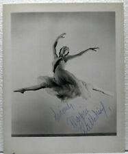 Marjorie Tallchief, Native American ballet dancer, signed autographed 8x10 photo