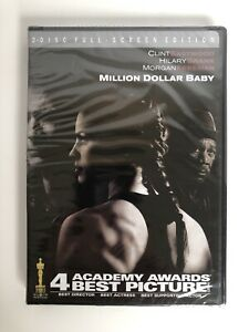Million Dollar Baby (DVD, 2005, 2-Disc Set, Full Frame) Clint Eastwood
