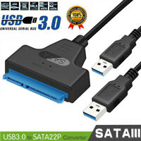 High Speed Master JMS578 SATA to Dual USB3.0 Adapter Cord for 2.5 inch SATA/HDD