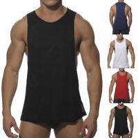Men's Bodybuilding Tank Top Gym Fitness Singlet Sleeveless Muscle Vest Workout