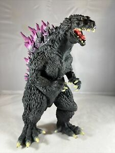 "2000 Banpresto Godzilla Large Soft Vinyl Millennium Figure 30cm 12"" BLACK"