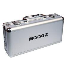 Mooer Firefly M4 Pedal Board Flight Case with 4 way daisy power plugs. FC-M4