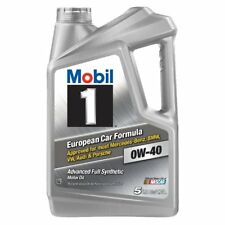 Mobil 1, 0W-40 Advanced Full Synthetic Motor Oil, 5 QT