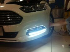 2 X COB LED DRL SMD Luz Diurna Luz lateral del Coche Xenon Blanco Impermeable.