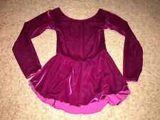 Ice Figure Skating Dress Youth Size Medium Competition #5