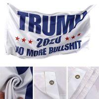 3' x 5' Trump 2020 Flag - Keep America Great Again MAGA No More BS Free Shipping