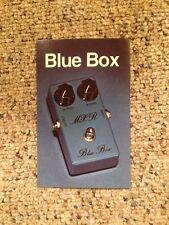 Vintage Mxr Guitar Effects Pedal Literature Spec Sheets ~Blue Box~ 70's-80's