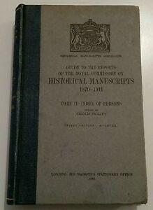 VINTAGE BOOK.1935.HISTORICAL MANUSCRIPTS 1870-1911.448 PAGES.PROP/DISPLAY.