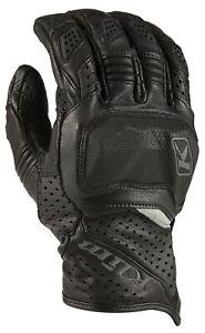 Klim Badlands Aero Pro Short Black Motorcycle Gloves - New! Free P&P!