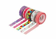 Bundle Monster Adhesive Creative Scrapbooking Craft Decorative Tapes 6pc - NEW