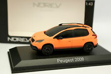 Norev 1/43 - Peugeot 2008 Orange Matt
