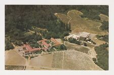 Aerial view of The Christian Brothers Monastery and Winery Napa CA Mont La Salle