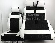 Mercedes Sprinter  Van Seat Cover-Made to Measure Sports PVC Leather Trim X53E