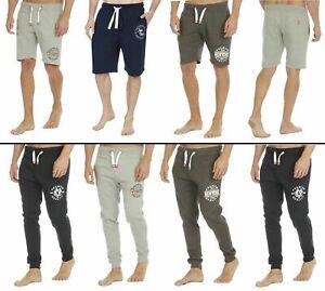 Cargobay Mens Sweat Shorts & Joggers Jogging Bottoms Sweatpants Gym Casual S-2XL