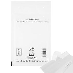 officeking Luftpolstertaschen Weiss 320x455mm I9 Versandtaschen Umschläge
