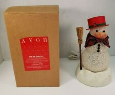 Avon Chilly Samantha Light Up Snow Woman Snowman Christmas Tested Working READ