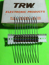 TRW 1/2W Carbon Composition Resistor Carbon Comp 5/10PC You Pick VALUE USA