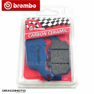 HONDA 250 CBR R 2013 Bremsbeläge hinten CC BREMBO Kohlenstoffkeramik 07HO53CC