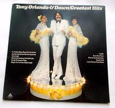 Tony Orlando & Dawn Greatest Hits 1975 Arista 4045 Pop Rock 33 rpm LP Strong VG+