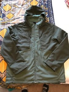 The North Face Apex Elevation Windwall Jacket Taupe Green New Xl