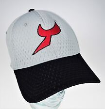 f4ed578d25b Proflex M L Fit   Comfort Grey Cap Red Y T Logo Hat NEW