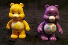 "2 3"" PVC Plastic TCFC Care Bear Figurine Toys Funshine Bear and Share Bear"