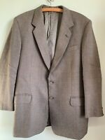 "John G Hardy Of London HM Queen Wool Tweed Jacket Made In Britain 48"" XL"