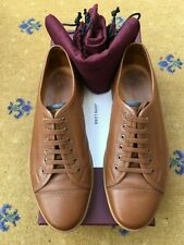 John Lobb Mens Brown Leather Levah Shoes UK 6 US 7 EU 40 Trainers Sneakers