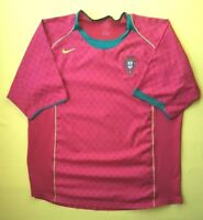 Portugal soccer jersey XL 2004 2006 home shirt Nike football ig93
