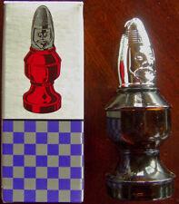 VINTAGE AVON THE Bishop 2 CHESS  Spicy AFTER SHAVE Empty Bottle 3 FL OZ