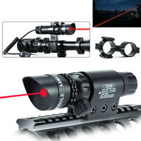 Red/Green Dot Laser Sight Scope Hunting Pressure Switch Picatinny Rail