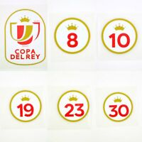 2020-21 Copa del Rey Player Issue Patch Spain for Shirt Jersey