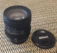Nikon 24-85mm AF-S ED VR FX zoom lens - Nikkor D700 D610