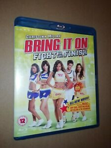 BRING IT ON * FIGHT TO THE FINISH * BLU-RAY DVD EXCELLENT 2009 CHRISTINA MILAN