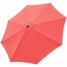 New listing 10ft Universal Replacement Umbrella Canopy Top Cover Uv30+ Outdoor Patio Beach