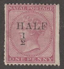 KAPPYSSTAMPS M8 BRITISH S AFRICA NATAL SCOTT #6 MNG TRIMMED  CATALOG = $110 USD