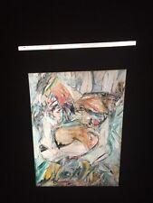 "William De Kooning ""Woman II"" Abstract Expressionist 35mm Art Slide"
